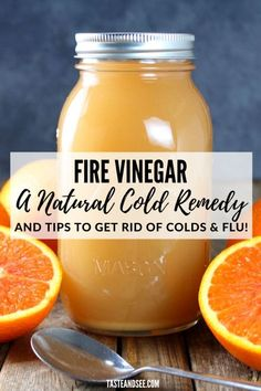 This Fire Vinegar is a natural remedy for the common cold! This Fire Vinegar is a natural remedy for the common cold! Head Cold Remedies, Home Remedies For Pimples, Natural Remedies For Arthritis, Natural Sleep Remedies, Cold Home Remedies, Natural Cures, Natural Health, Homemade Cough Remedies, Home Remedy For Cough