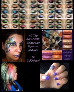 So many different uses with Younique products https://www.youniqueproducts.com/kaylahorton/products/view/US-1011-00#.U6rPiYm9Kc0