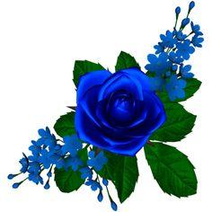 tubes fleurs - Page 28 Rose Flower Png, 3d Rose, Floral Font, Arte Floral, Flower Backgrounds, Flower Wallpaper, Vintage Flowers, Blue Flowers, Rose Pictures