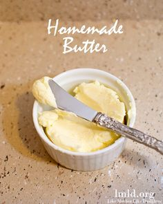 Its so easy to make homemade butter and its so fresh and delicious! #lmldfood
