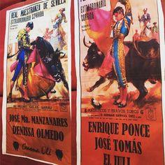 Toalla Cartel Gaona Olé. Tu eliges el cartel :) de México para el mundo Taurino. Pedidos facebook Gaona Olé.