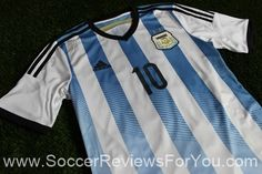 Argentina 2014 Home Jersey Review