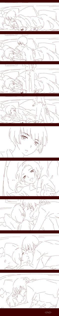 「kiss」/「抹茶Aoi」の漫画 [pixiv]