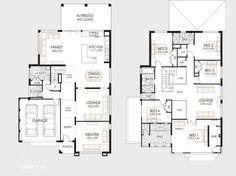 Planos de casas de dos pisos | Construye Hogar