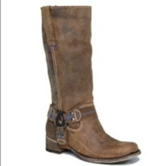 Bed Stu Women's Crutchers western boots Worn couple times like new condition true to size.Genuine Leather Bed stu Shoes