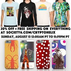 Sale plus free shipping, just today (Sunday August 13)!  TAGS: #sale #discount #freeshipping #giftideas #art #arte #elloart #collage #collageart #photomontage #pattern #texture #society6 #society6artist #society6art #tees #tshirts #teeshirt #tshirtdesign #tshirt #tees #fashion #housewares #cards #iphone #phonecase #smartphone