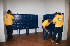 Installation of mailboxes at Imperial College London http://www.safetyletterbox.com/mailboxes/student-mailboxes/case-studies/TheImperialCollegeMailboxDevelopment.php