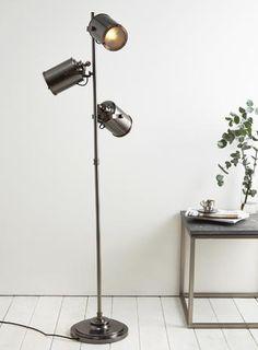 Copper Isaac 3 light Floor Lamp