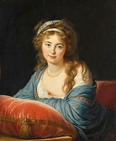 Countess Ekaterina Vasilievna Skavronskaya - not the brightest, the countess kept a slave under her bed who told her the same story every night