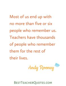 This is 1 of our favorite teacher quotes! We're sure you'll love it too. Download it here: http://bestteacherquotes.com/andy-rooney/
