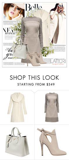 """""""Lattori II-1"""" by ado-duda ❤ liked on Polyvore featuring moda, Lattori, J.W. Anderson, Prada, Jimmy Choo y New Growth Designs"""