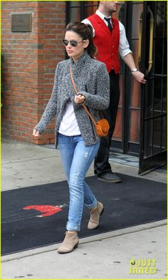 Hermes purse, ShoeMint boots, Isabel Marant jacket (oct 2012)