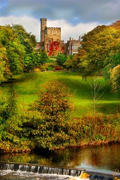 Photo of Hornby Castle, by Wojciech Rozanski - Pictures of England Royalty Free Stock Photos