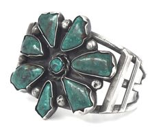EARLY SOUTHWEST OLD PAWN TURQUOISE STERLING SILVER WIDE CUFF BANGLE BRACELET | Jewelry & Watches, Vintage & Antique Jewelry, Vintage Ethnic/Regional/Tribal | eBay!