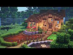 Art Minecraft, Minecraft House Plans, Minecraft Structures, Minecraft Mansion, Minecraft Houses Survival, Easy Minecraft Houses, Minecraft House Tutorials, Minecraft House Designs, Minecraft Decorations