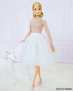 Poised and polished in pink.  #barbie #barbiestyle