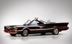 1966 Chevrolet Batmobile Recreation and Original 1966 Yamaha Batcycle | Car Pictures - Classic Car Pictures - Muscle Car Pictures
