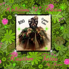 Heavenly Tutuz featuring Kr8tionz 4 Kutiez Handmade Kustom Tutuz by Kara CAMO Girlz Tutu with Headband ONLY $50.00 You are going to LOVE this adorable tutu dress! It's the perfect addition to your little girl's dress-up collection. It is also wonderful for formal events and photo shoots! Available in any size from newborn to adult. This tutu dress is handmade. Be sure to LIKE us on Facebook and come check us out for weekly giveaways https://www.facebook.com/HeavenlyTutusKustomKr8tions?ref=hl