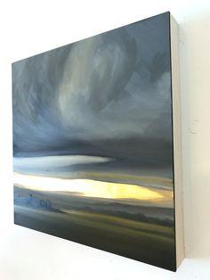 Abstract Landscape, Landscape Paintings, Abstract Art, Acrylic Painting Inspiration, Acrylic Painting Canvas, Modern Art, Contemporary Art, Gold Leaf Art, Art Plastique
