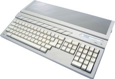 """""""This might not be popular, and is probably affected by nostalgia, but I always admired the style of Atari XE/ST keyboards. Computer Gadgets, Gaming Computer, Computer Keyboard, Alter Computer, Home Computer, Computer Equipment, Japanese Market, Home Studio Music, Old Computers"""