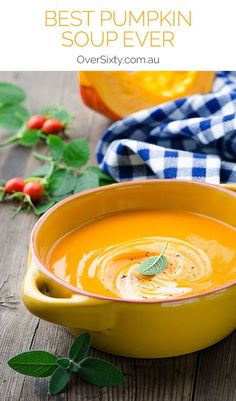 Best Pumpkin Soup Ever - with winter coming, this delicious pumpkin soup recipe will warm you from the inside out on those colder nights.