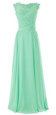 7aee7c76d83  maillsa chiffon bateau bridesmaid dress prom dress with appliques NT468  Maillsa http