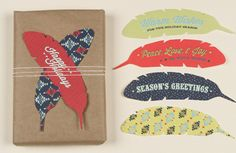 a bunch of free printable Christmas gift tags by various designers on How About Orange's blog.