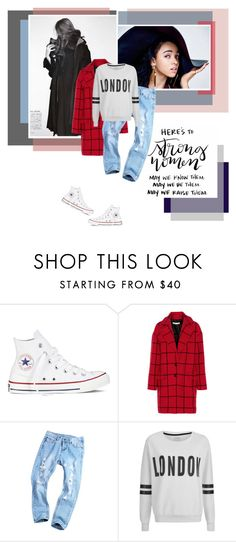 """"""""""" It's not the load that breaks you down, it's the way you carry it """" - Lena Horne"""" by punkrockmeansfreedom ❤ liked on Polyvore featuring Converse, Rebecca Minkoff and ONLY"""