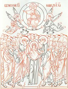 Byzantine Icons, Grisaille, Catholic Art, Orthodox Icons, Painting Lessons, Craft Fairs, Vintage Art, Coloring Pages, Creations