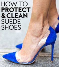 Tips and tricks to get your suede shoes looking like new!