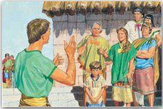 Alma der Jüngere predigt den Ammonihaiten und sagt ihnen, dass es ihnen, die sie die Gesetze kennen, schlimmer ergehen wird als den Lamaniten, die das Gesetz nicht kannten. Wenn du wissen willst wieso, klick diesen Blog an.
