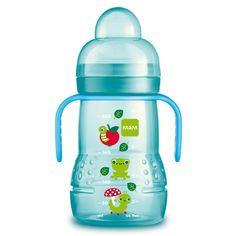 MAM Babyartikel Trainer Plus 62838220 Training Cup 220 ml Neutral Green for sale online Mam Bottles, Avent Baby Bottles, Glass Baby Bottles, Drink Bottles, Baby Alive Food, Bottles For Breastfed Babies, Baby Bottle Sterilizer, Bottle Picture, Bottle Images