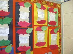 Apple art and poem