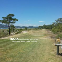 """""""Play great golf courses of the World like Troia Golf in Portugal. Practice to play your best with Golf Short Game Tracker. Download at http://www.golfshortgametracker.com"""""""