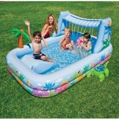 1000 Images About Toddler Pool With Canopy On Pinterest Baby Pool Canopies And Pools