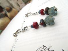 Anciennes perles en verre, rares perles mosaiques islamiques; graines ....