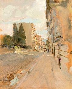 : MARIO CAVAGLIERI (Italian 1887-1969) Scenes of...