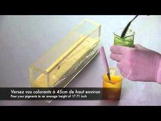 The drop soap technique - La larme de savon