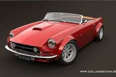 Bo Zolland Design MG MGB