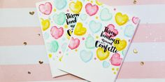 Hello, today I wanted to relax a bit and have a good time in my craft room,so I pulled out this new stamp set that I got from Honey Bee and along with my Distress Inks I created a couple of fun ca…