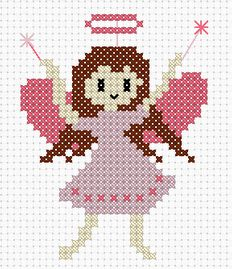 Ditch the halo and she'll be a quick and easy fairy to stitch up.