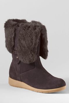 Women s Mendota Booties from Lands  End 0fd9beae51