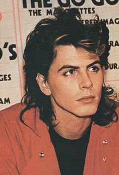Gorgeous John..Red is his colour..