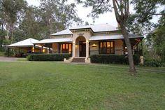 Original Queenslander. Perfect example of early Australian architecture.