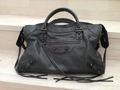 Balenciaga City RH in Anthracite