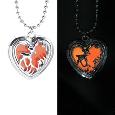 Glowing Double Sided Deer Pendant
