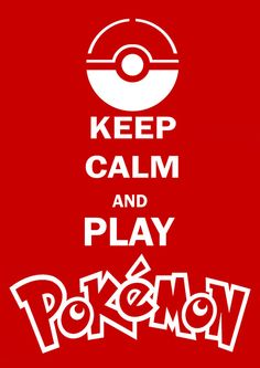 But remain a closet fan, only telling your closest friends who are also closet Pokemon fans :)