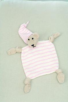 Knitting Pattern Baby Blanket Comforter
