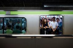 Rush hour, Shinbashi (新橋)