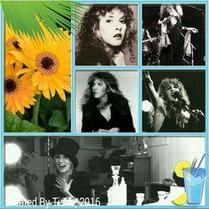 Stevie Nicks Collage Created By Tisha 03/18/16